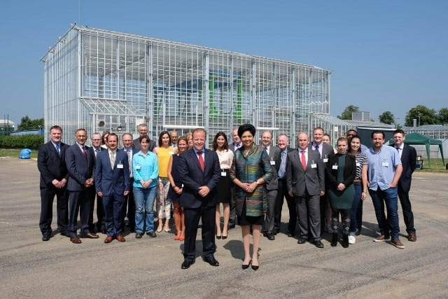 Opening Plant Phenotyping and Soil Health Facility