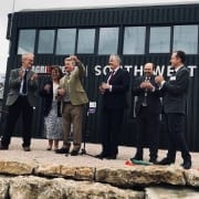 Lord and Lady Bathurst opening SW Dairy Centre 2 Oct 2018